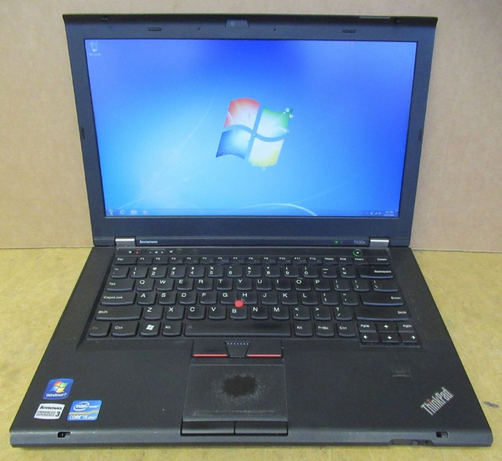 Lenovo ThinkPad T430S Intel Core i5-3320M 2.6GHz 128GB SSD 8GB Ram Win 7 Pro